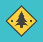 Fir-tree icon — Wektor stockowy
