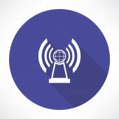 Radio station icon — Stock Vector