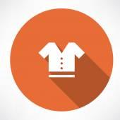 T-shirt symbol — Stock Vector
