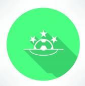 Football League icon — Stock Vector