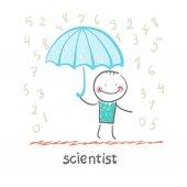 Scientist icon — Stock Vector