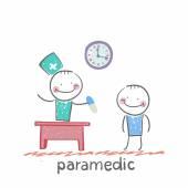 Paramedic icon — Vector de stock