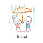 Friend icon — Stockvector