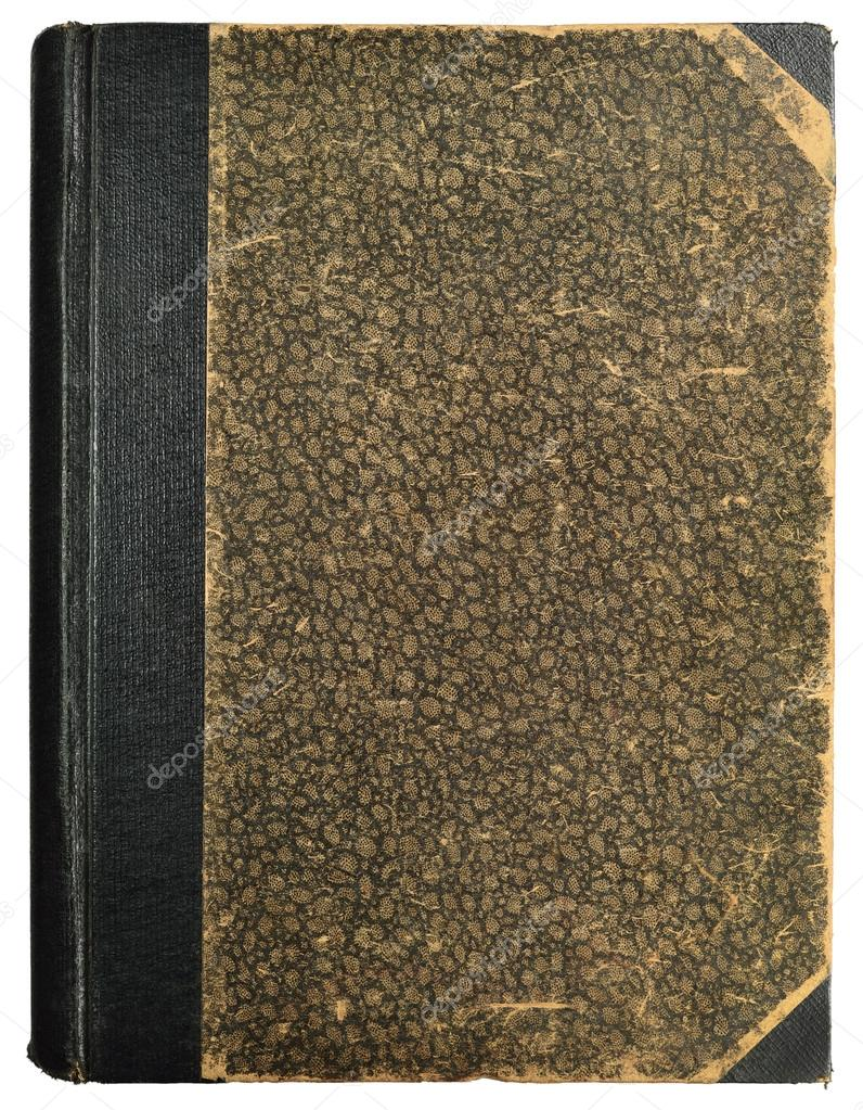 Grunge Book Cover Texture : Grunge vintage book cover blank empty antique ornamental