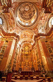 St. Peter and Paul Church in Melk Abbey — Stock Photo