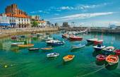 Harbour of Castro Urdiales, Spain — Stock Photo
