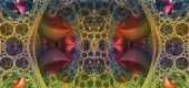 Psychedelic art — Stock Photo