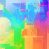 Abstract spectrum art background — Stock Photo