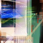 Modern virtual technology background — Stock Photo