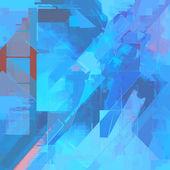 Blue art background — Stock Photo