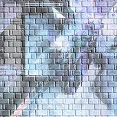 Barevné abstraktní zeď — Stock fotografie