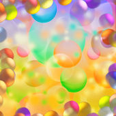 Colorful bubble background — Stock Photo