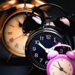 Retro alarm clocks — Stock Photo #64040957