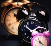 Retro alarm clocks — Foto de Stock