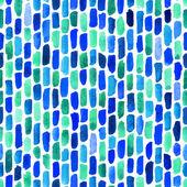 Watercolor bricks. Vector abstract seamless pattern. — Stockvector
