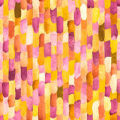 Watercolor bricks. Vector abstract seamless pattern. — Stock Vector