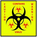 Bio hazard sign — Stock Photo #56174119
