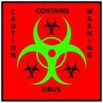 Bio hazard sign — Stock Photo #56174131