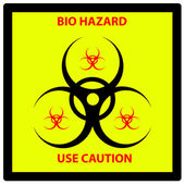Bio hazard sign — Stock Photo