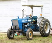 Old Ford tractor — 图库照片