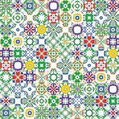Portuguese tiles — Vector de stock