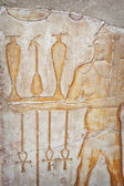 Luxor carving — Stock Photo