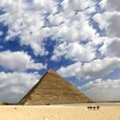 Grote piramide van egypte — Stockfoto
