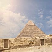 The Great Pyramid — Stock Photo