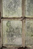 Dirty window — Stock Photo