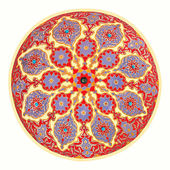 Mosque ceiling art — Stock Photo
