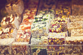Delicious turkish delight — Stock Photo
