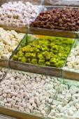 Selection of Turkish delights — Stock Photo