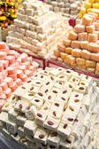 Turkish delights sweets — Stock Photo