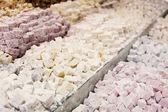 Turkish delights sugarcoated — Stock Photo