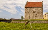 Glimmingehus stronghold — Stock Photo