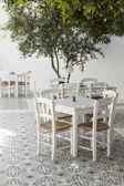 Traditional greek taverna — Stock Photo