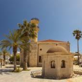 Lerapetra mosque — Stock Photo