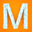 Crystal Letter - M — Stock Photo #60347945