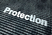 Software protection background — Stock Photo