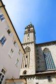 Historisk arkitektur i salzburg — Stockfoto