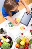 Nutritional education — Stock Photo