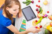 Nutritional education — Stock Photo