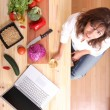 Internet Cooking — Stock Photo #68764845