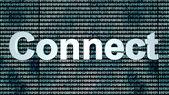 Binary Connect background — Stok fotoğraf