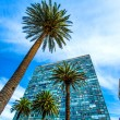 Modern Architecture on the Plaza Independencia in Montevideo — Stock Photo #69648585