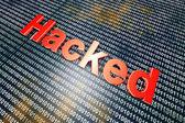 Hacked — Stock Photo