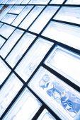 ガラス ブロックの壁 — ストック写真