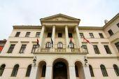 Historic architecture in Sopron — Stock Photo