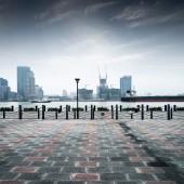 Modern city — 图库照片