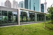 Shanghai office building — Stock Photo